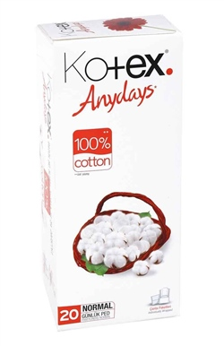Kotex Günlük Ped Normal 20li