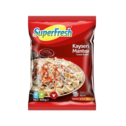 SuperFresh Donuk Mantı 400 Gr